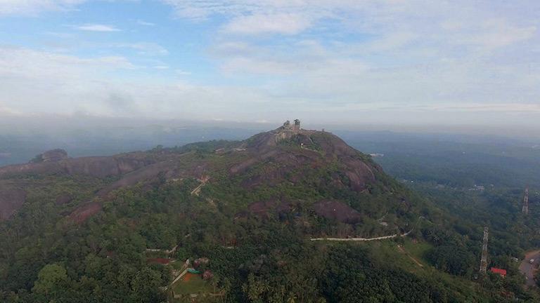 Hilltop Camping at Jatayu