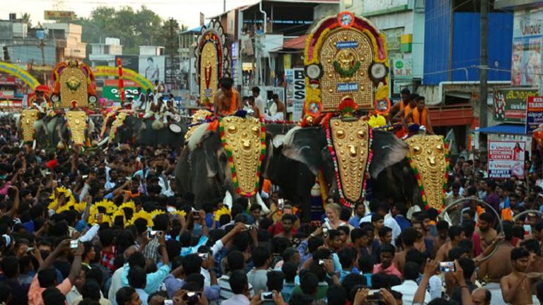 Thazhuthala Gajolsavam